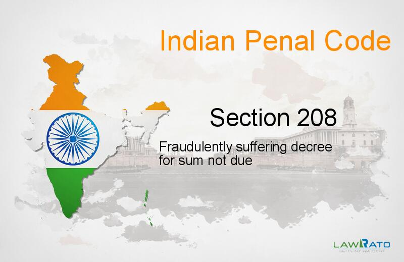 IPC Section-208