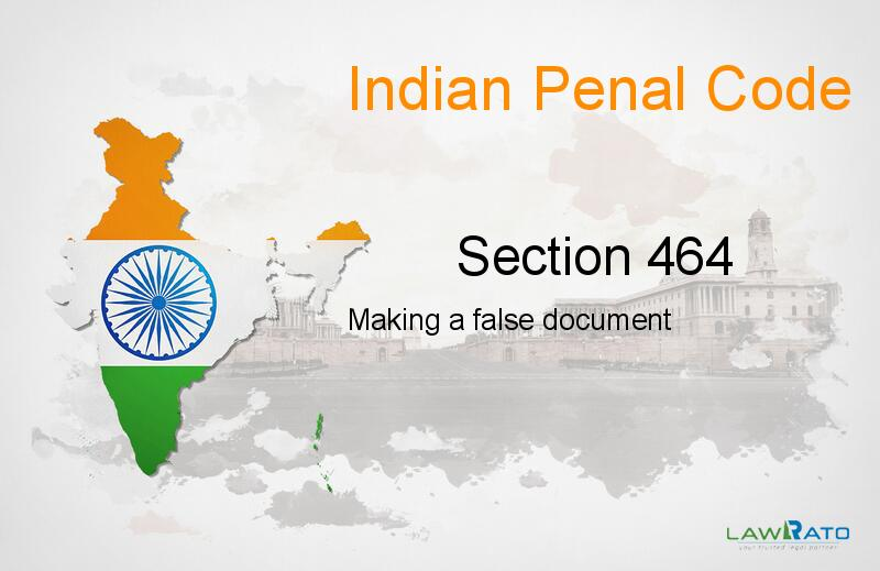 IPC Section-464