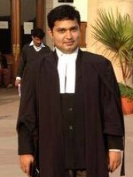 One of the best Advocates & Lawyers in Delhi - Advocate Abhishek Ritabh Shukla