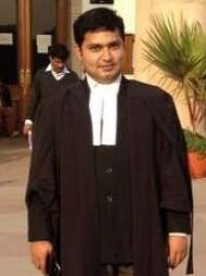 One of the best Advocates & Lawyers in Delhi - Advocate Abhishek Ritabh Shukla