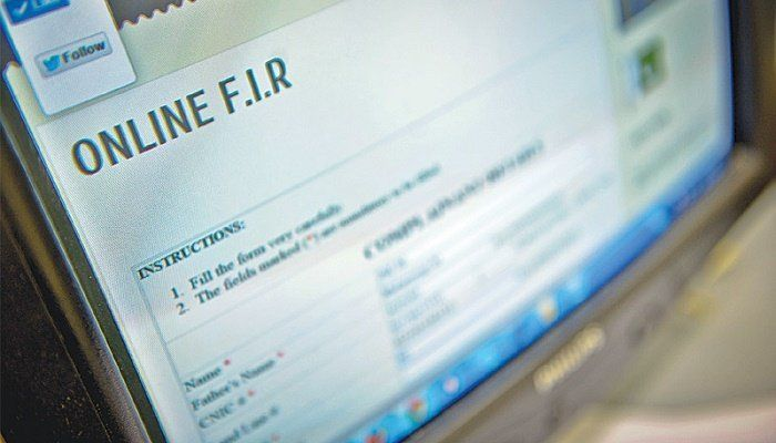 Fir Online: How to File and Register Fir Online