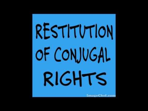 restitution of conjugal rights notice