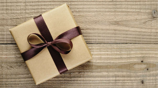 bomb in gift